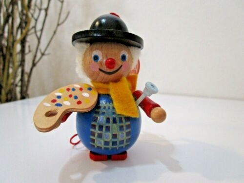 "Steinbach Christmas Wooden ""PAINTER-ARTIST""  Ornament  W/TAG ~ EUC (Lot 3)"