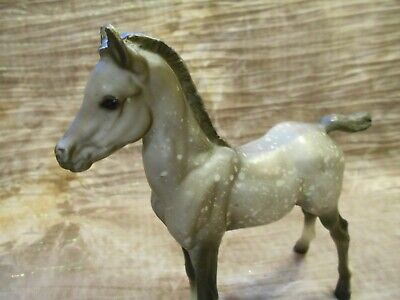 Breyer Proud Arabian Foal Vintage Splash Dapple Matte