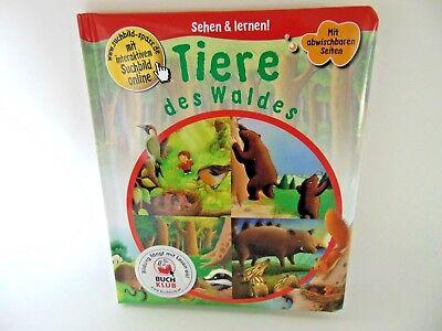 Tiere des Waldes - Kinderbuch Sehen & lernen! Buch abwischbar Bilderbuch ()