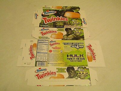 Hostess  Pre Bankruptcy Interstate Brands  Twinkies Hulk Collectible Box