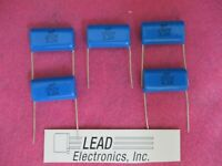 Lot of 5-4.7uF 250V 10/% Metallized Poly Film Capacitors ECQ-E2475KB