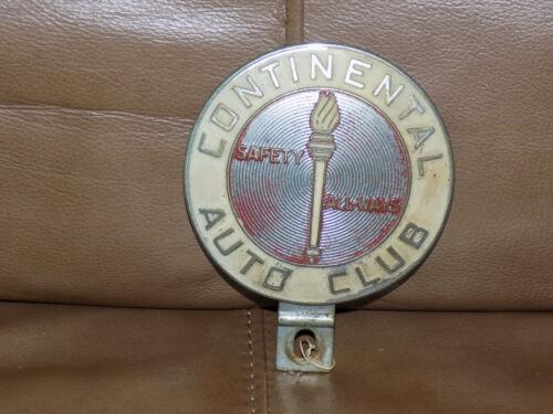 Continental Auto Club Safety Always Auto Badge