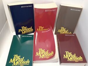 The Mortal Messiah Series by Bruce R. McConkie 6 Volume Box Set LDS Mormon