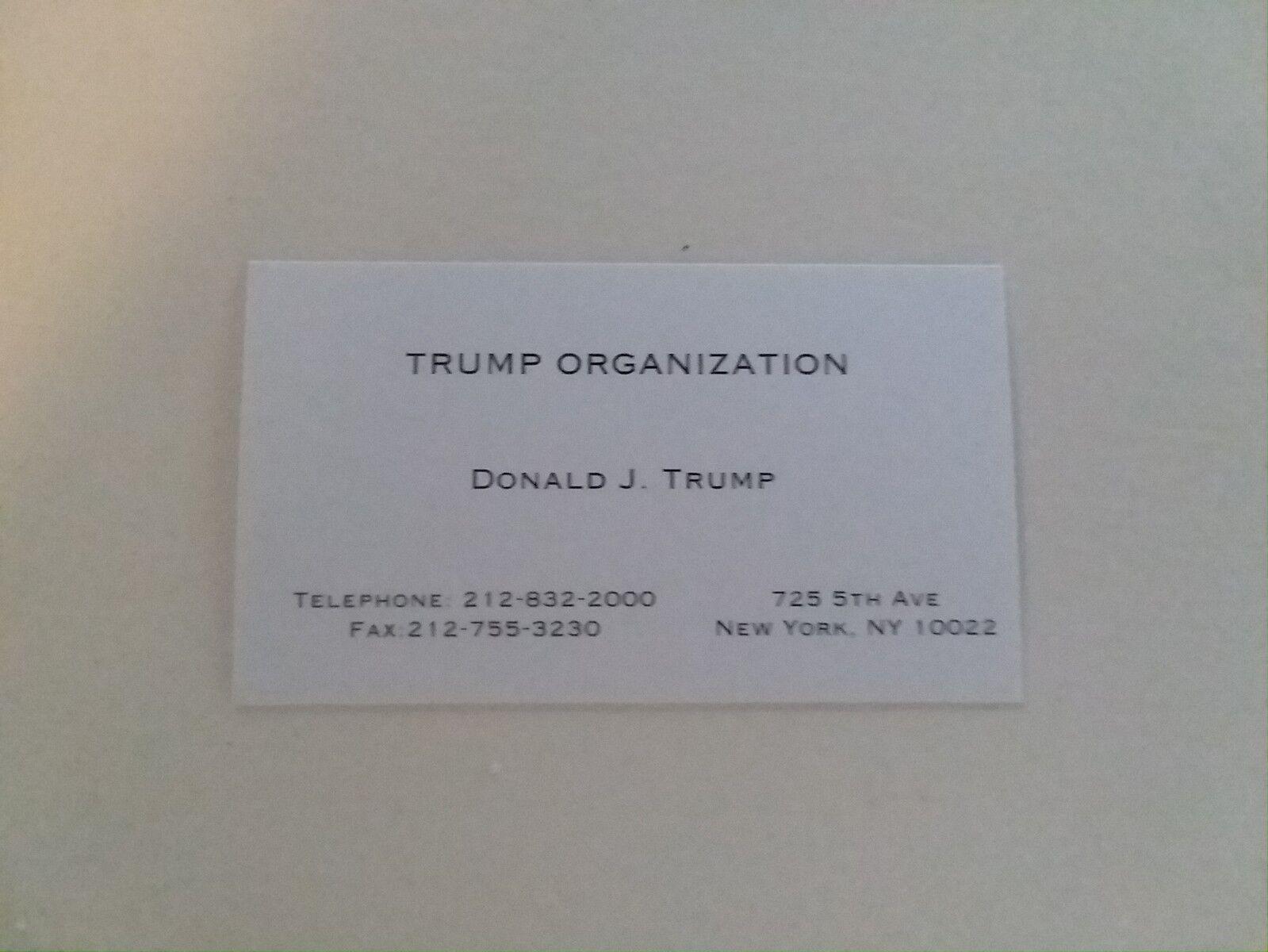 Donald trump business card trump organization shopping ebay with donald trump business card trump organization colourmoves