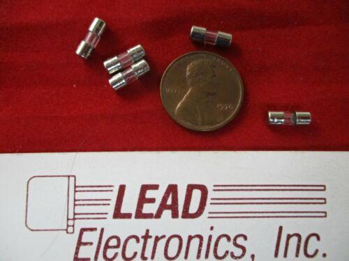 qty5 F5AL Fast-Blow Mini Fuse 5-amp 125V Glass Fuses 3.6mm x 10mm