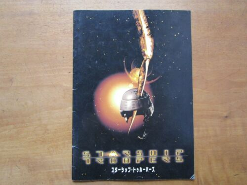 "Film ""Starship Troopers"" Paul Verhoeven Movie Program Japanese ver F/S"