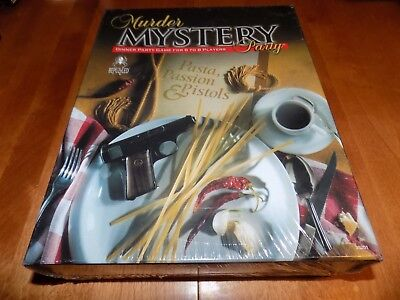 MURDER MYSTERY DINNER PARTY GAME Pasta Passion & Pistols BEPUZZLED NEW SEALED](Passion Party Toys)