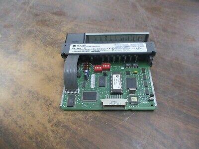 Allen-bradley Slc 500 High Speed Counter Encoder 1746-hsce Ser. A Used