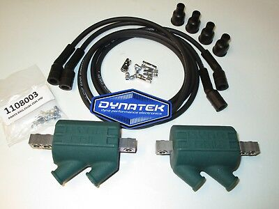 <em>YAMAHA</em> XJR1300 XJR1200 DYNA PERFORMANCE IGNITION COILS AND BLACK DYNA