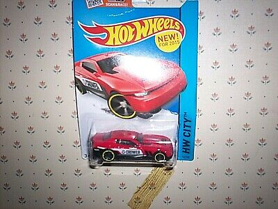2015 Hot Wheels HW CITY D-Muscle 14/250 (Red Version)