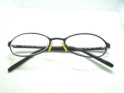 GUCCI Vintage Womens Eyeglasses GG1665 006 Black 51-18-135