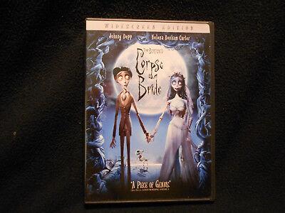 Corpse Bide Tim Burton's Starring Johnny Depp, And Helena Bonham-Carter (Tim Burton Helena Bonham Carter Johnny Depp)