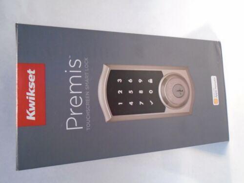 NEW KWIKSET PREMIS TOUCHPAD DEADBOLT ELECTRONIC DOOR LOCK SATIN NICKEL 919