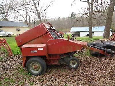 Case Ih 3450 Round Baler-bale Size 4x5 In Good Condition Electric Tie. 50 Hp.