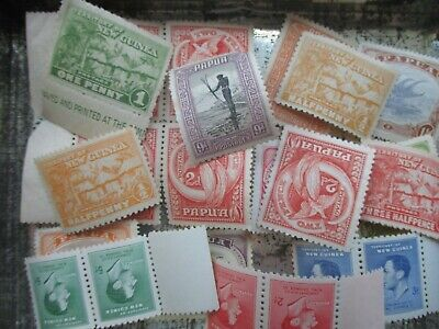 ESTATE: Papua Mint accumulation unchecked unsorted as received  (s944)