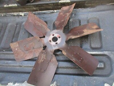 1976 1370 Case Diesel Farm Tractor Fan Free Shipping