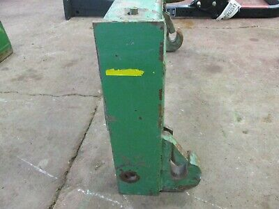 John Deere 4430 Cast Suitcase Weight Bracket692
