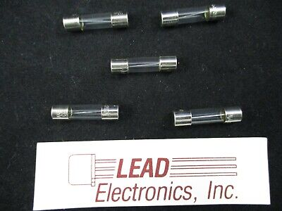 Qty5 Glass Fuse 5-amp Fast Acting 14 X 1cross To 36205.0 Agx-5a