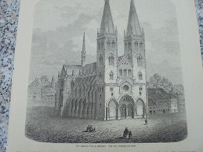 1861 Stich 405 / Dom Halberstadt