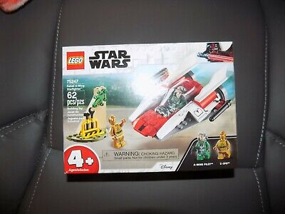 LEGO Star Wars Rebel A-Wing Starfighter 75247 BOX ONLY
