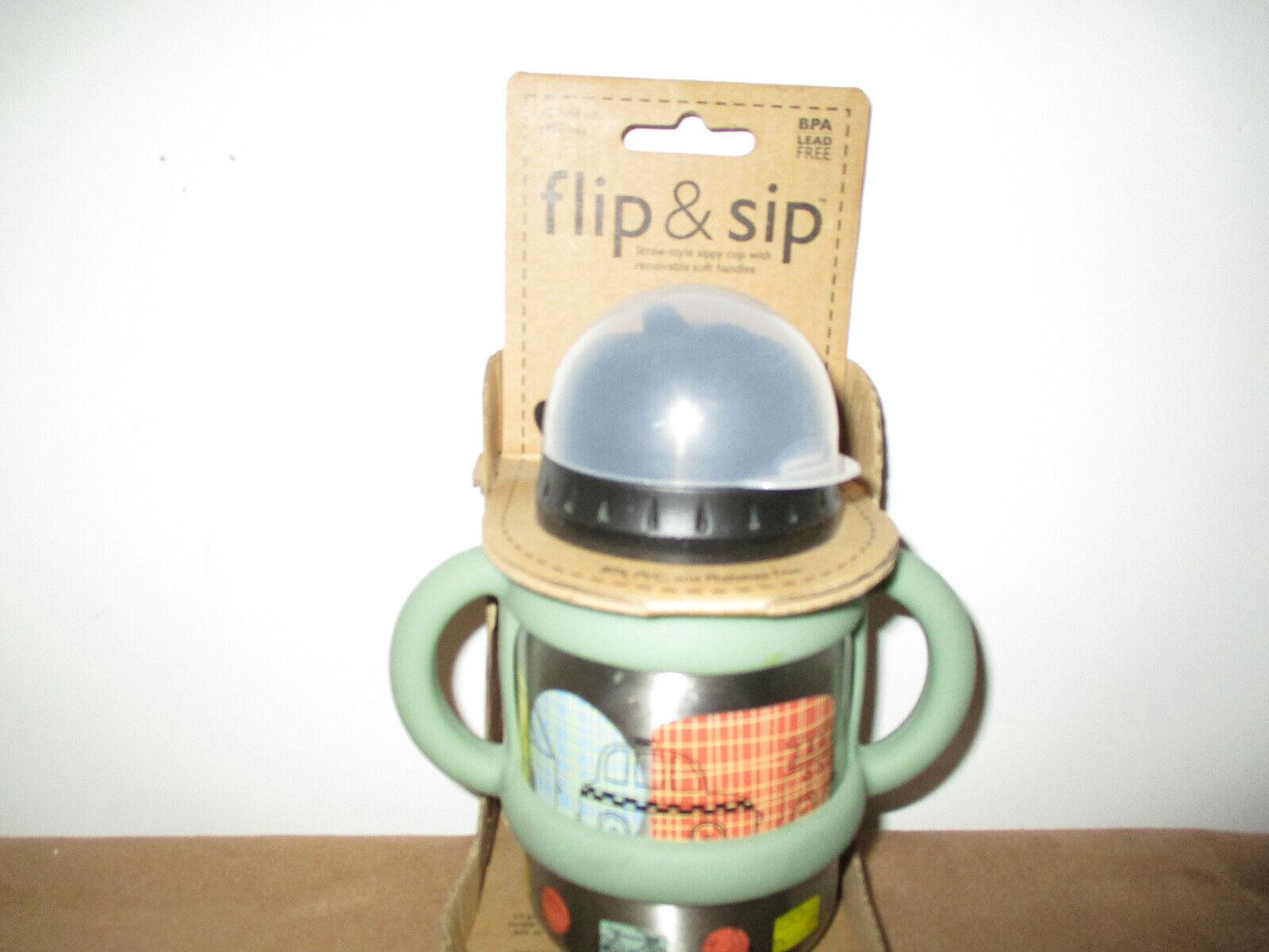 Sugar Booger Flip & Sip Sippy Cup/Toddlers/ BPA FREE Cup