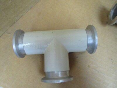 No Name Vacuum Tee T Fitting Aluminum Dn 25 Iso Kf 000045459 Au New