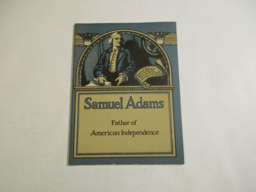 Vintage 1922 John Hancock Mutual Life Insurance Samuel Adams Booklet~12