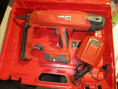 Hilti Bx 3 Battery Actuated Fastener Nailer 22v Works Great