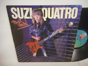 Suzi Quatro Rock Hard LP EX/VG+ 1980 Dreamland Glam Rock Punk