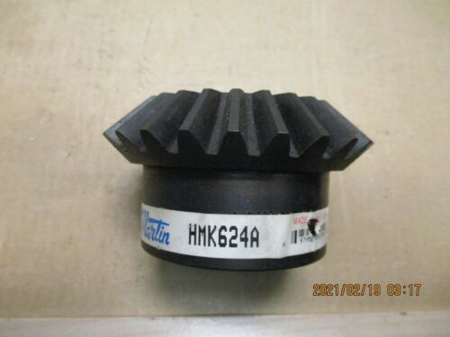 """NEW OTHER MARTIN HMK624A MITER GEAR, 1-1/2"""" BORE, KW & 1 S.S.  6 PITCH, 24 TEETH"""
