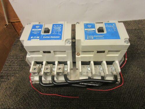 EATON AN16NN0 NEMA SIZE SZ 4 REVERSING CONTACTORS 135 A AMP 600V 3PH 120V COIL
