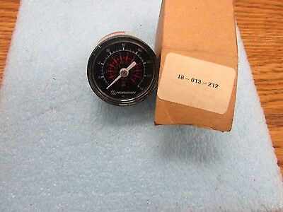 Norgren Model 18-013-212 Pressure Guage. New Old Stock
