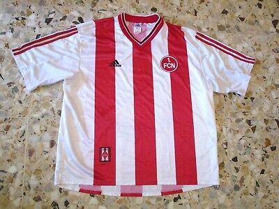 Maillot shirt trikot jersey ancien FC NÜRNBERG  NUREMBERG 1997-1998 Adidas image