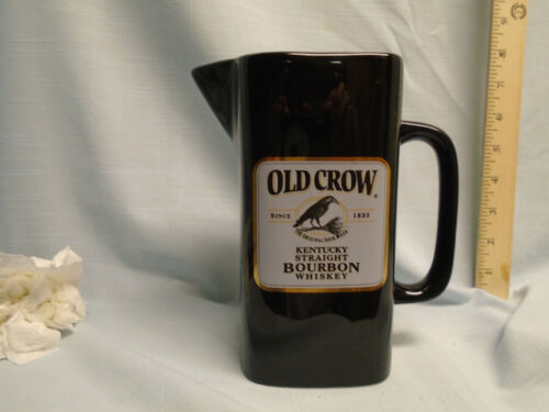 Old Crow / Wade Black water pitcher
