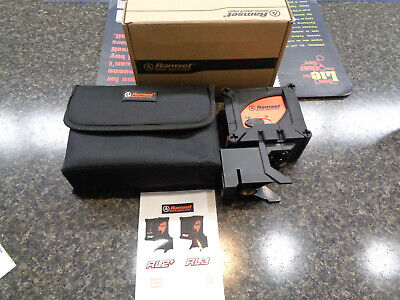 Ramset Rl3 Line Laser Level With Case New Open Box
