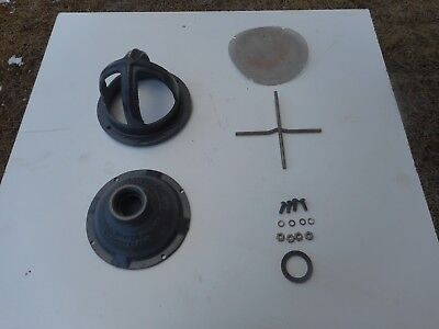 Used Pond Or Mining 1 Hose Thread Water Suction Strainer Inlet Housing