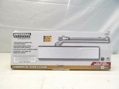 Universal Hardware UH4061 Heavy Duty All-In-One Commercial Door Closer