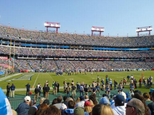 Three (3) tickets Tennessee Titans vs New Orleans Saints Nov 14 Nashville LB