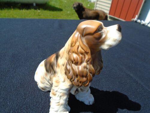 Ceramic Springer Spaniel Dog Figurine