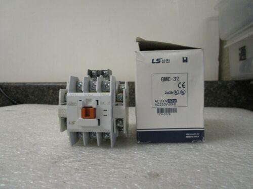 New! LS Meta MEC GMC-32 GMC(D)-32 Contactor 2a2b 220V 26a 440V 25a 50/60Hz