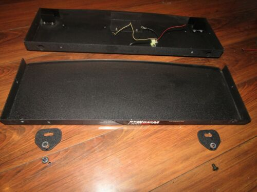"""CODE 3 WINGMAN REAR DECK LIGHT """" BARE""""  HOUSING ADD YOUR YOUR OWN LIGHTS"""