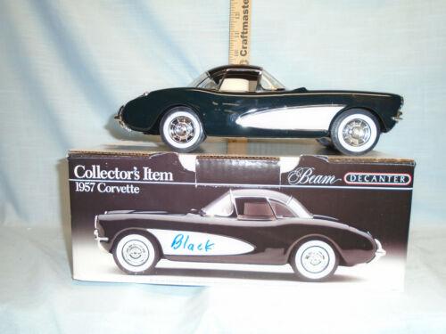 Jim Beam 1957 Black Corvette Decanter