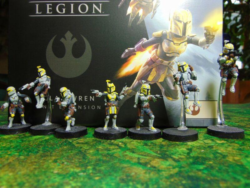 Star Wars Legion Clan Wren Unit expansion painted