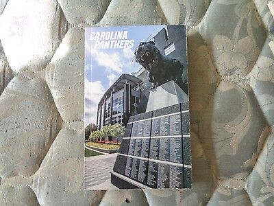 2016 Carolina Panthers Media Guide 2015 Nfc Champion  Yearbook Nfl Football Ad