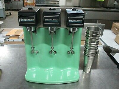 Hamilton Beach Commercial Shake Mixer With Stainless Steel Cups - 5374