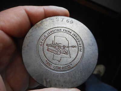 "MISSISSIPPI Army National Guard Jewelry Die Stamp Hob Hub Mold ""ZERO MIJs S1R"""