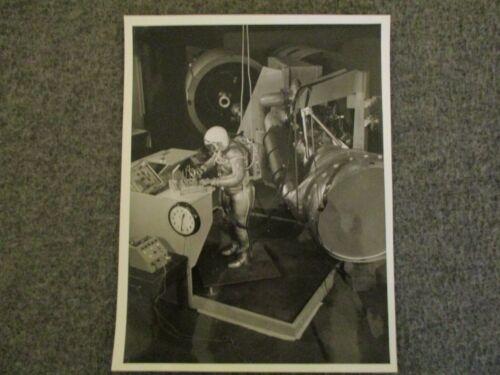 1961-62 NASA MSFC 1st GEN B/W PHOTO SIMULATED TEST PROGRAM SATURN H-1 ENGINE