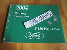 2004 FORD F-150 F150 150 Heritage Wiring Diagrams Manual ...