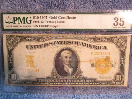 5.1907 $10 Gold Certificate