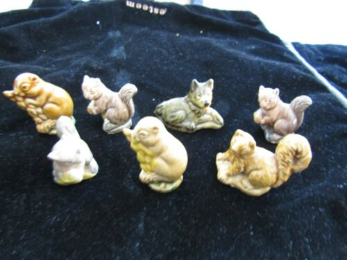 Vintage Wade Whimsies Series 2 Set 5  Made In England Lot Of 7
